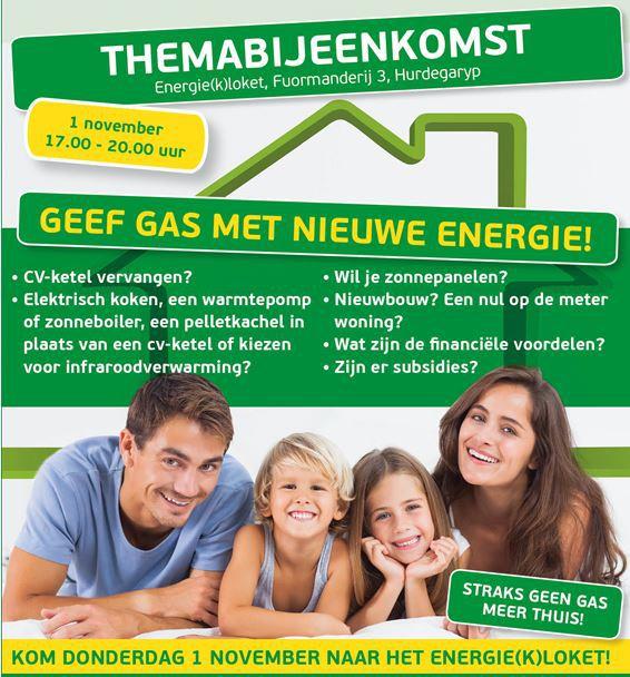 themadag geef gas met nieuwe energie